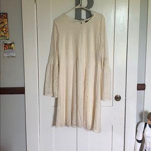Women's boho short wedding dress
